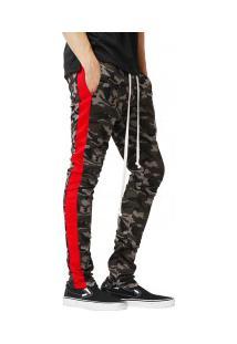 Calça Masculina Camuflagem Army - Vermelho