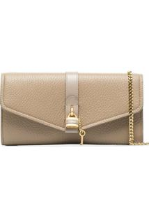 Chloé Clutch Aby - Neutro