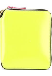Comme Des Garçons Wallet Carteira De Couro Modelo 'Jaune' - Amarelo