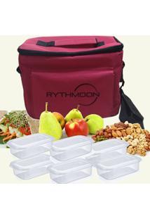 Kit Bolsa Térmica Tipo Keeppack Pink + 6 Refeições Rythmoon - Unissex