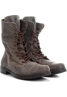 Bota Coturno Walkabout Double Boots Masculina - Masculino-Café