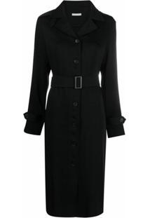 12 Storeez Vestido Com Cinto - Preto