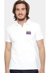 Camisa Polo Lacoste Slim Fit Fancy Masculina - Masculino