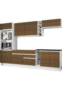 Cozinha Madesa Pietra G20161286Est Branco/Rustic Se