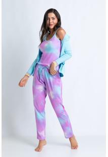 Pijamas Acuo Pijamas Roxo