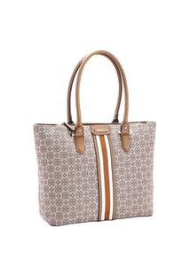 Bolsa Feminina Chenson Jacquard De Ombro 3482202
