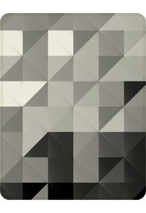 Tapete Love Decor Sala Wevans Monochrome Triangle ÚNico - Cinza - Dafiti