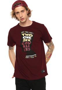 Camiseta New Era Cleveland Cavaliers Vinho