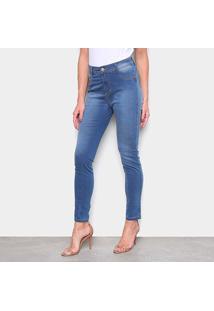 Calça Jeans Ecxo Skinny Feminina - Feminino