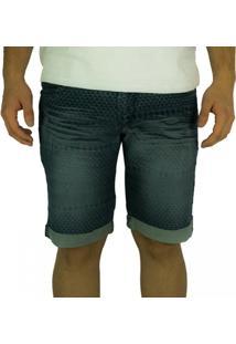 Bermuda Jeans Masculina Gangster 17.01.1766 - Masculino