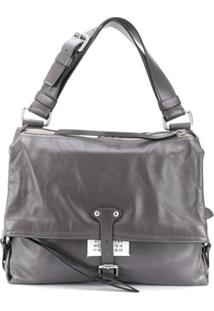 Maison Margiela Medium Ndn Shoulder Bag - Cinza