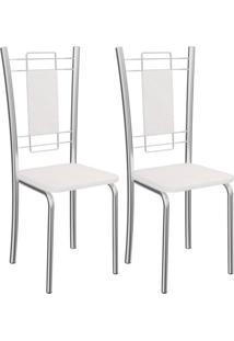 Kit Com 2 Cadeiras Kappesberg Florença - 2C005Cr