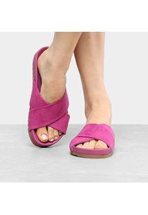 Rasteira Shoestock Cruzada