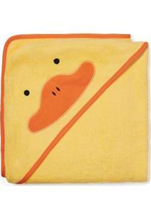 Toalha De Banho Infantil Skip Hop Zoo Pato - Unissex-Amarelo