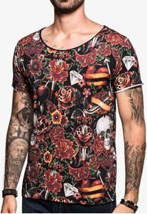 Camiseta Tattoo Watercolor 103106