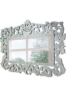 Espelho Decorativo Musselini 80X120 Cm Prata