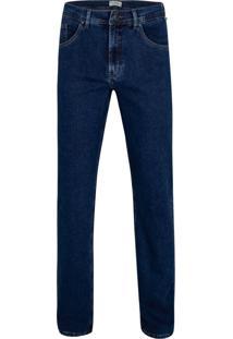 Calça Jeans Malha Denim Premium Blue