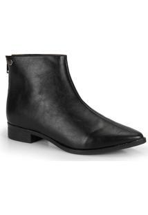 Ankle Boots Bico Fino Quiz