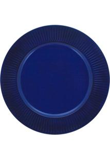 Sousplat Mimostyle Listras Azul Marinho