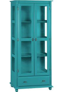 Cristaleira Kaon Glass - Laca Azul