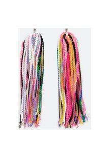 Maxi Brinco Colorido Em Paetês | Accessories | Multicores | U