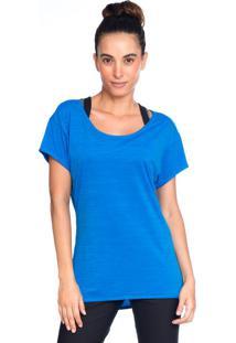 Camiseta Baby Look Azul | 553.822