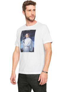 Camiseta Cavalera Dona Florinda Branca