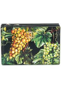 Dolce & Gabbana Porta-Moedas Com Estampa De Frutas - Verde