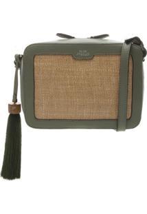Bolsa Com Barbicacho- Verde Militar & Begearezzo & Co.