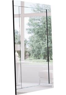 Espelho Decorativo Viggor 90 X 185 Preto