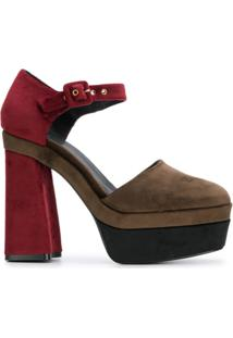 66f5563516 Sandália Com Salto Kj feminina