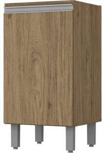Armário De Cozinha 1 Porta 400Mm Integra Rústico - Pnr Móveis