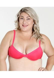 Sutiã Feminino Push Up Renda Plus Size Marisa