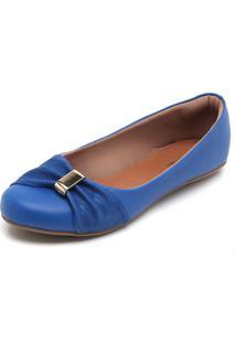 Sapatilha Dafiti Shoes Detalhe Azul