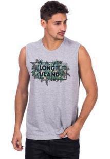 03d656b685 ... Regata Long Island Folhagem Masculina - Masculino