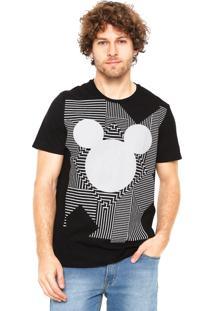 Camiseta Cativa Disney Preta