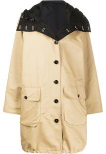 Marni Reversible Belted Trench Coat - Neutro