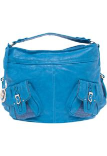 Bolsa Miss Unique Grande Azul