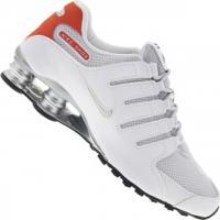 11115ca4d96 Tênis Nike Shox Nz Se - Masculino - Branco Laranja