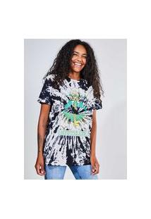 Camiseta Tie Dye Estampa Mística