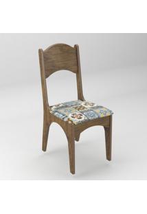Cadeira Com Assento Estofado Ca18 Dalla Costa - Caixa Com 2 Unidade - Nobre Ladrilho