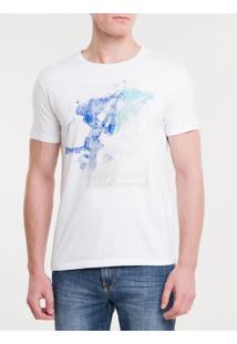 Camiseta Ckj Mc Est Gitarra - Branco 2 - Pp