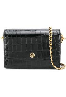 Tory Burch Mini Robinson Shoulder Bag - Preto
