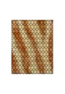 Tapete Marbella Vinay Retangular (100X150Cm) Caramelo E Creme