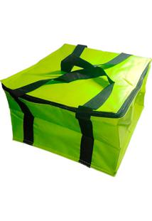 Bolsa Térmica Lancheira Fitness 12 Litros Verde