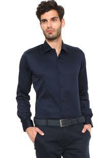 Camisa Sergio K Reta Azul