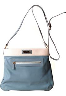 Bolsa Feminina Transversal 8057 - Feminino-Azul