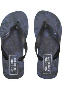 4f997a7f6 Chinelos Masculinos Azul Marinho Colcci | Moda Sem Censura