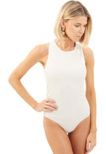 Body Le Lis Blanc Julie Malha Off White Feminino