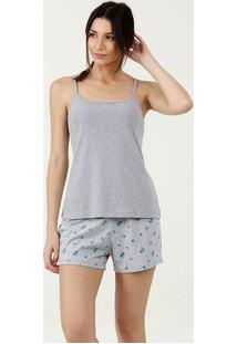Pijama Feminino Alças Finas Marisa